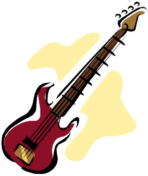 504x600 Fender bass guitar clip art clipart