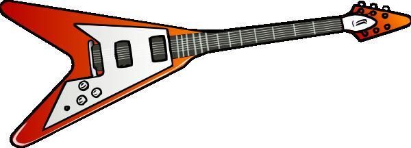 600x216 Guitar clip art Free Vector 4Vector