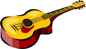 300x170 Guitar clip art pictures free clipart images
