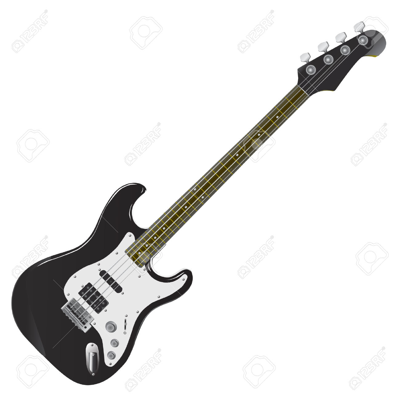 1300x1300 Bass Guitar Clip Art Many Interesting Cliparts