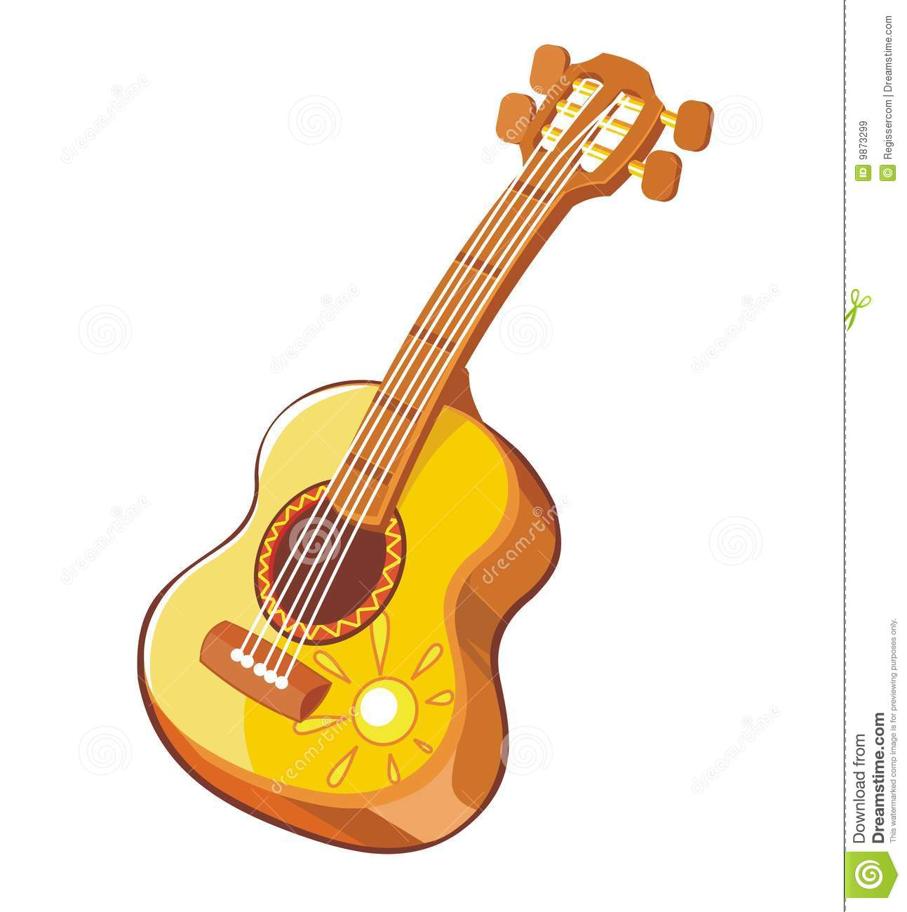 1293x1300 Guitar Clipart Mexican Guitar