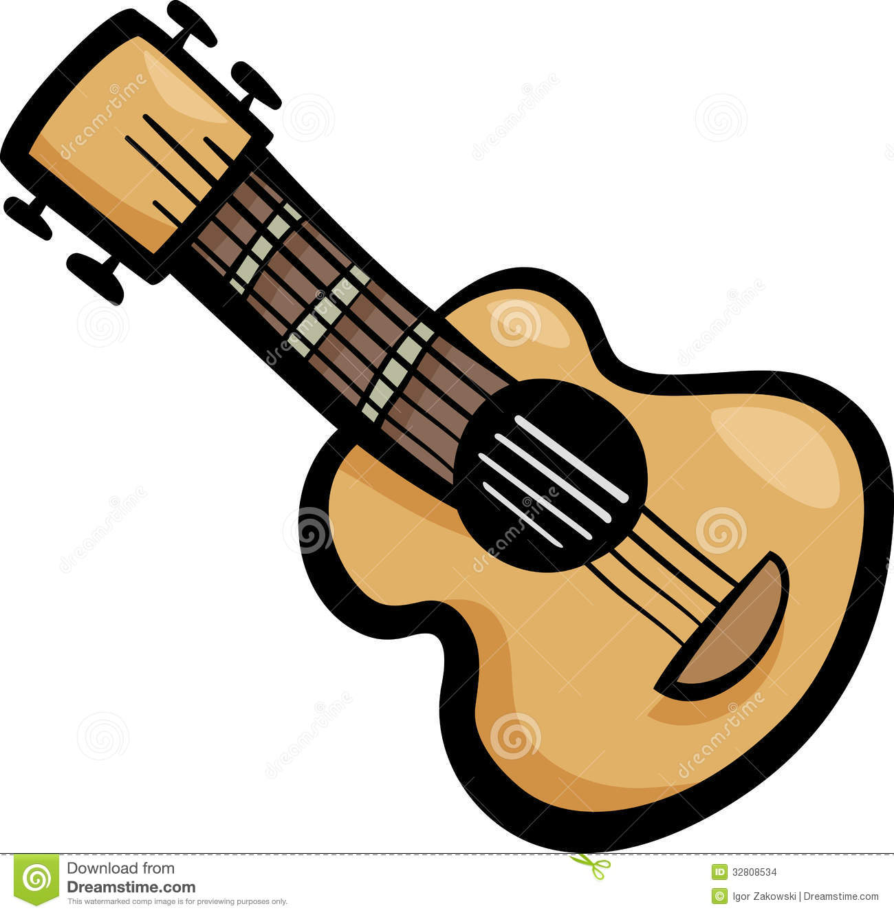 1300x1330 Cartoon Guitar Clipart
