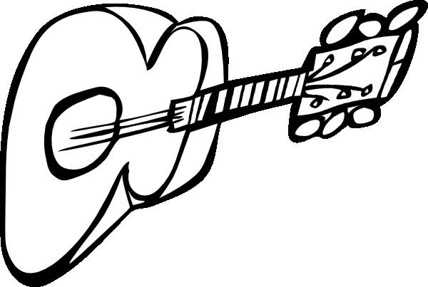 600x403 Guitar clip art Free Vector 4Vector