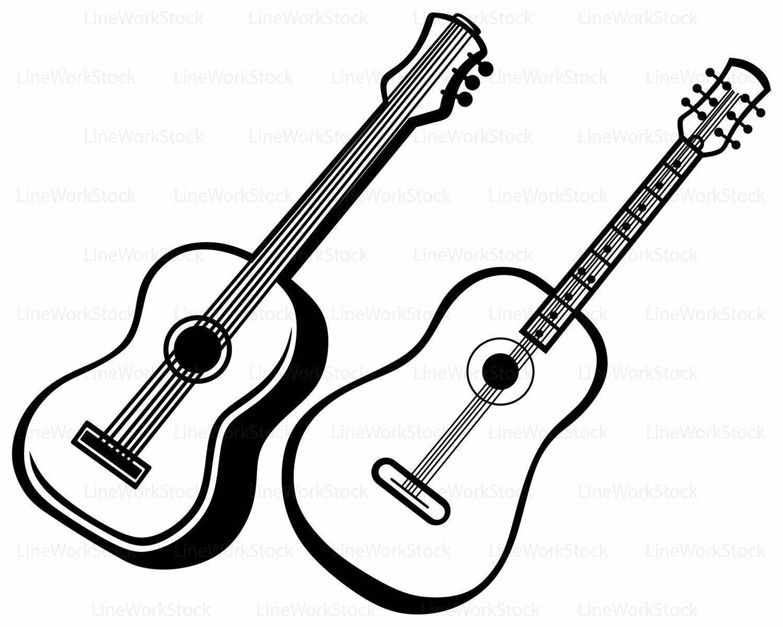 1500x1200 Guitar svg,guitar clipart,guitar svg,guitar silhouette,guitar
