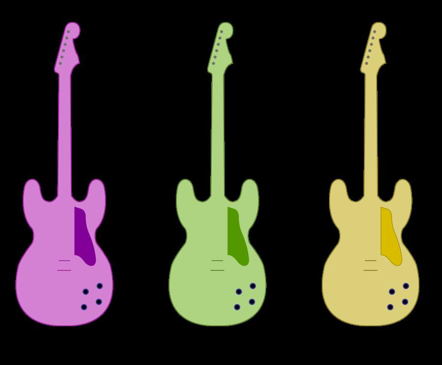900x745 Guitar Outline (Vector) By Skylark Torch