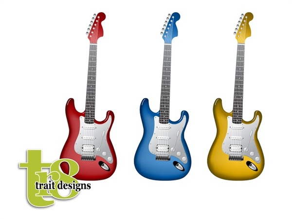600x450 Guitar Outline Free Vector Download (5,128 Free Vector)