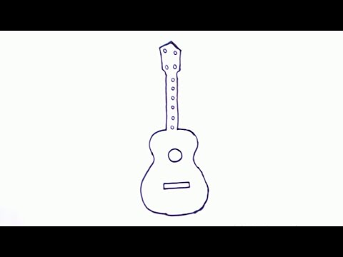 480x360 How To Draw A Guitar