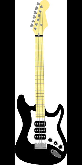320x640 Music, Outline, Recreation, Cartoon, Electric, Guitar