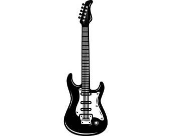 340x270 Guitar Svg Etsy
