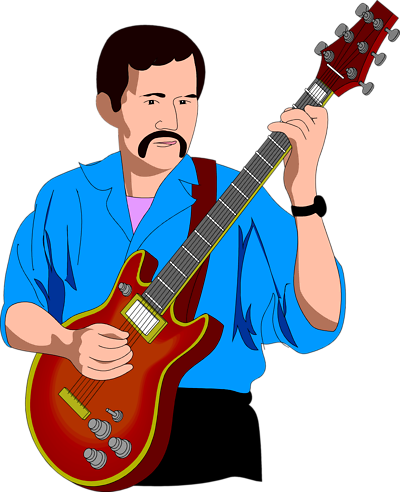 400x492 Playing Guitar Clipart Free Clipart Images
