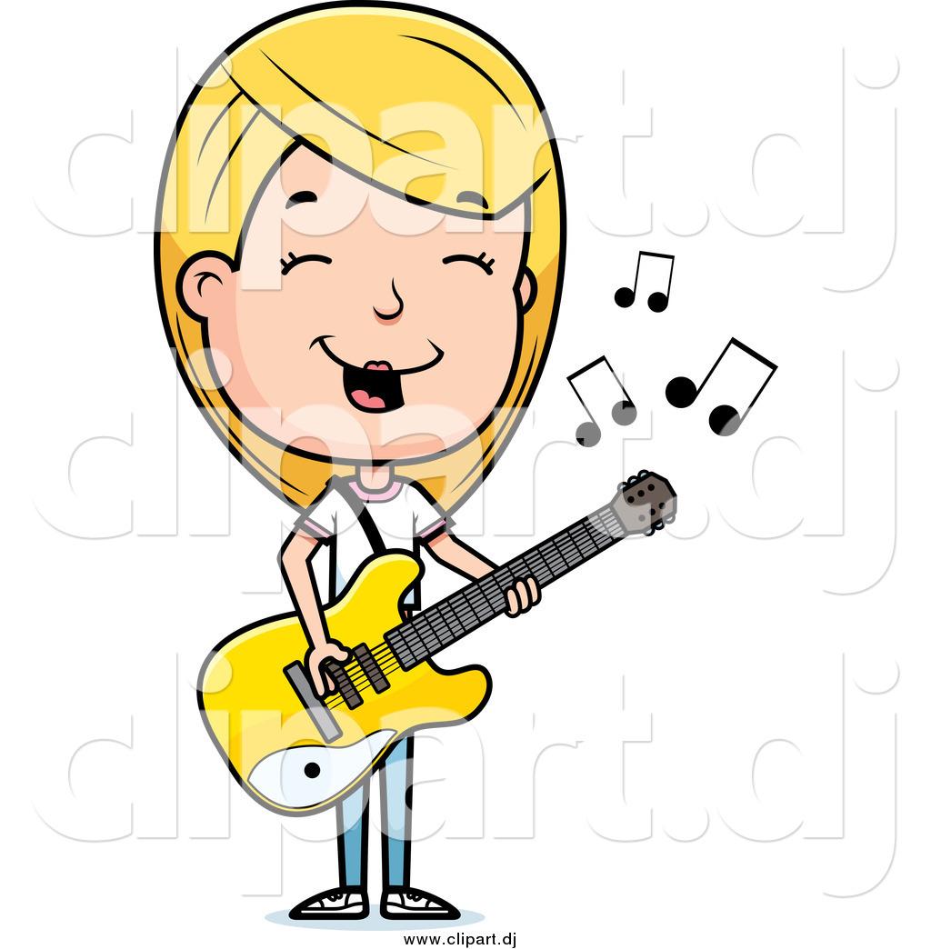 1024x1044 Cartoon Guitar Player Clipart