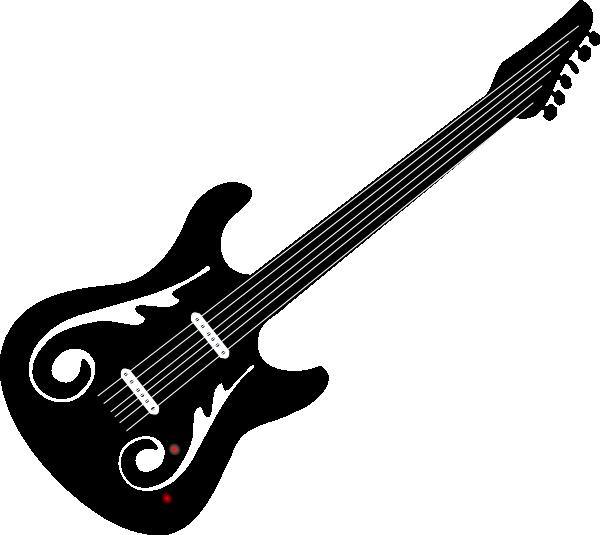 600x535 Guitar Clip Art