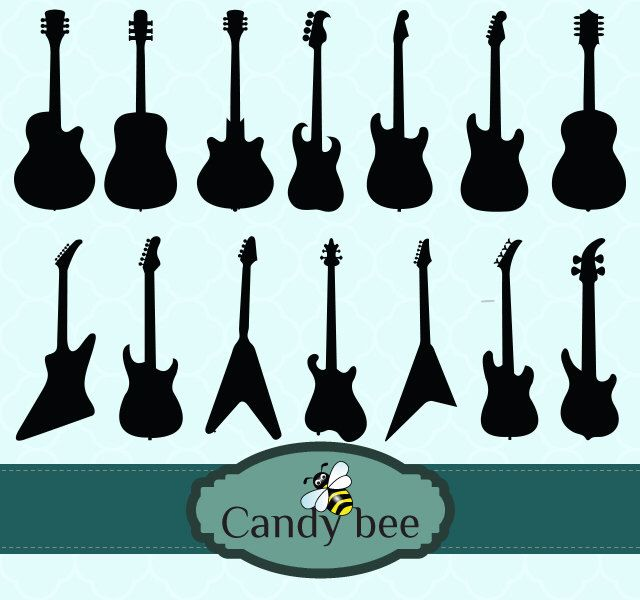 Guitar Vector Clipart