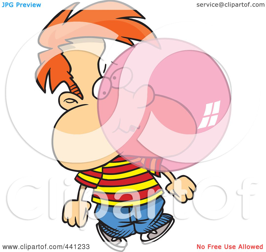 1080x1024 Royalty Free (Rf) Clip Art Illustration Of A Cartoon Boy Blowing