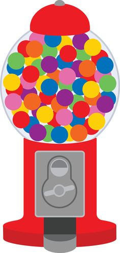 photo about Gumball Machine Printable called Gumball Product Clipart Cost-free down load ideal Gumball Unit