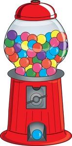 148x300 Chewing Gum Clipart Gumball Machine