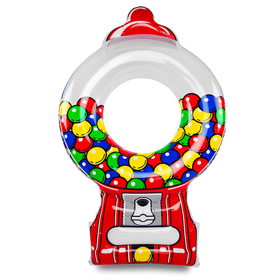 550x550 Giant Inflatable Gumball Machine Pool Float