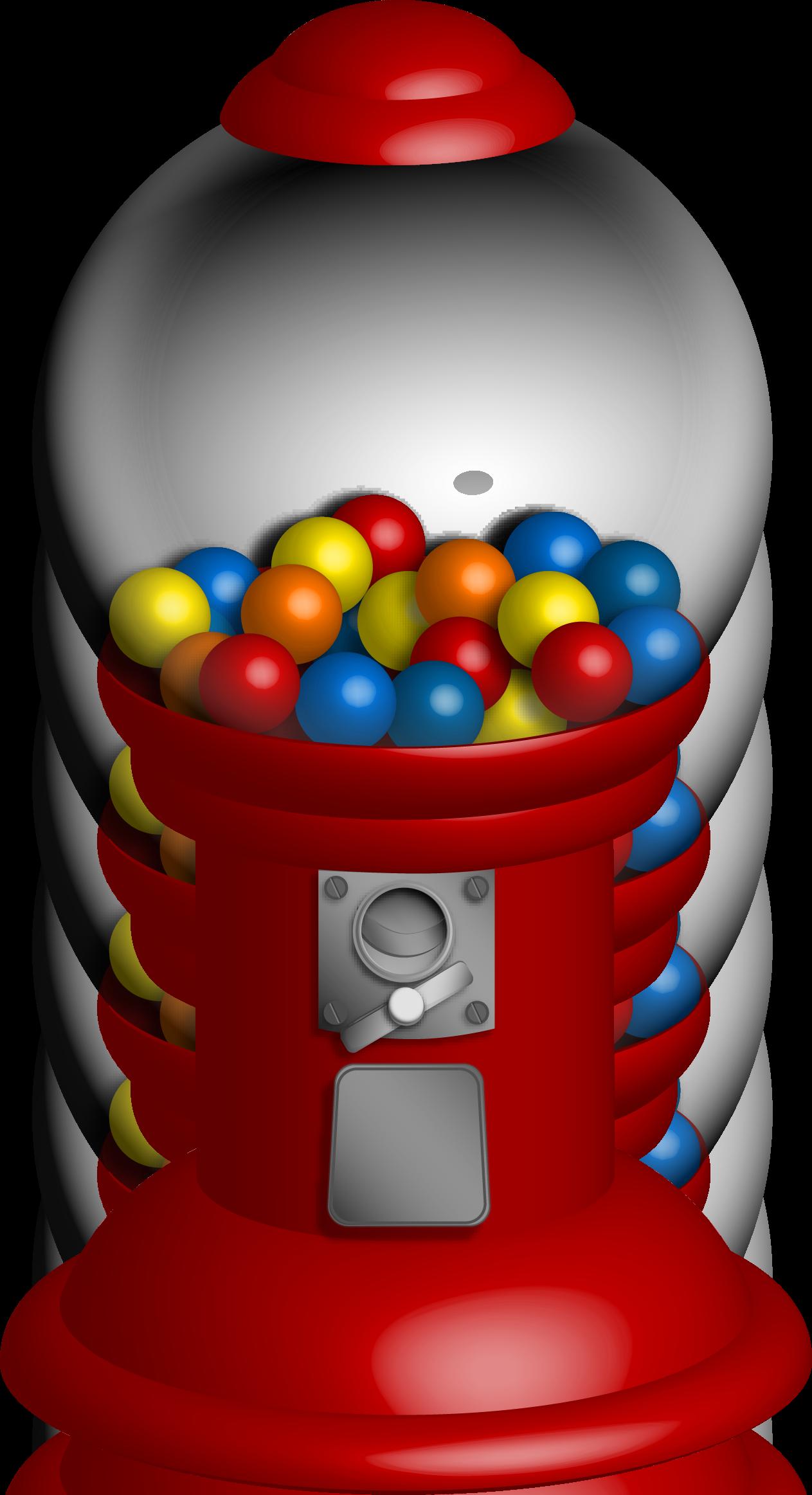 1263x2325 Gumball Clipart Ball