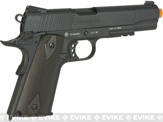 640x480 Colt 1911 Rail Gun Full Metal Co2 Powered Blowback Airsoft