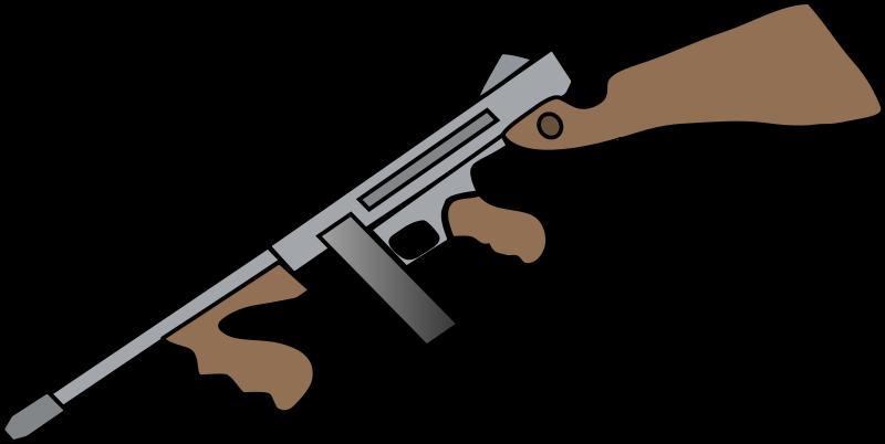 800x402 Free Clipart Tommy Gun Wildchief
