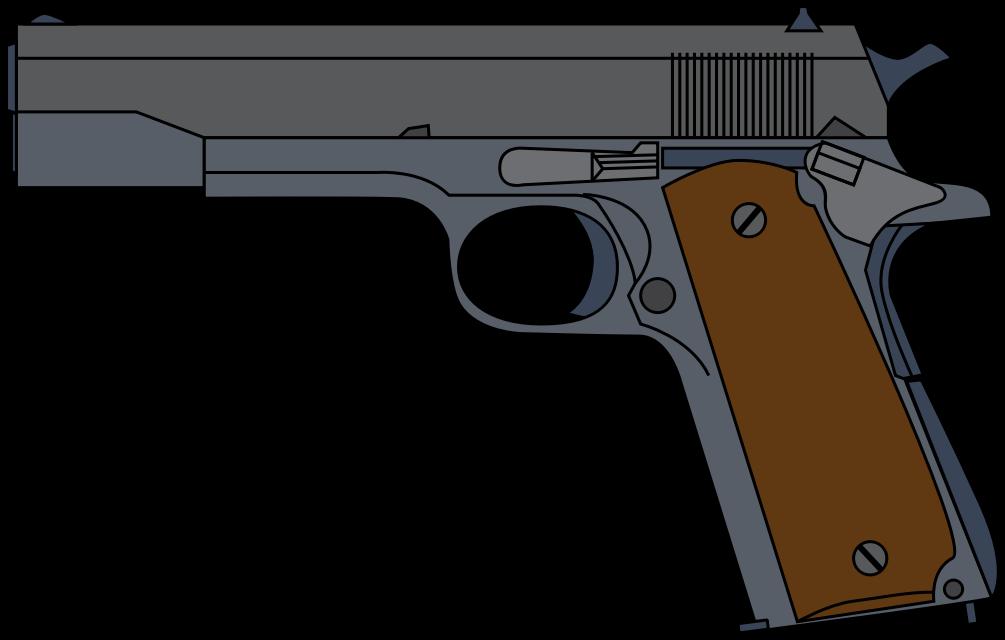 1005x640 Free Pistol Clip Art Clipart Panda