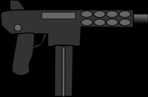 480x316 Gun Clip Art