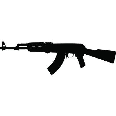 400x400 Machine Gun Clipart Ak 47