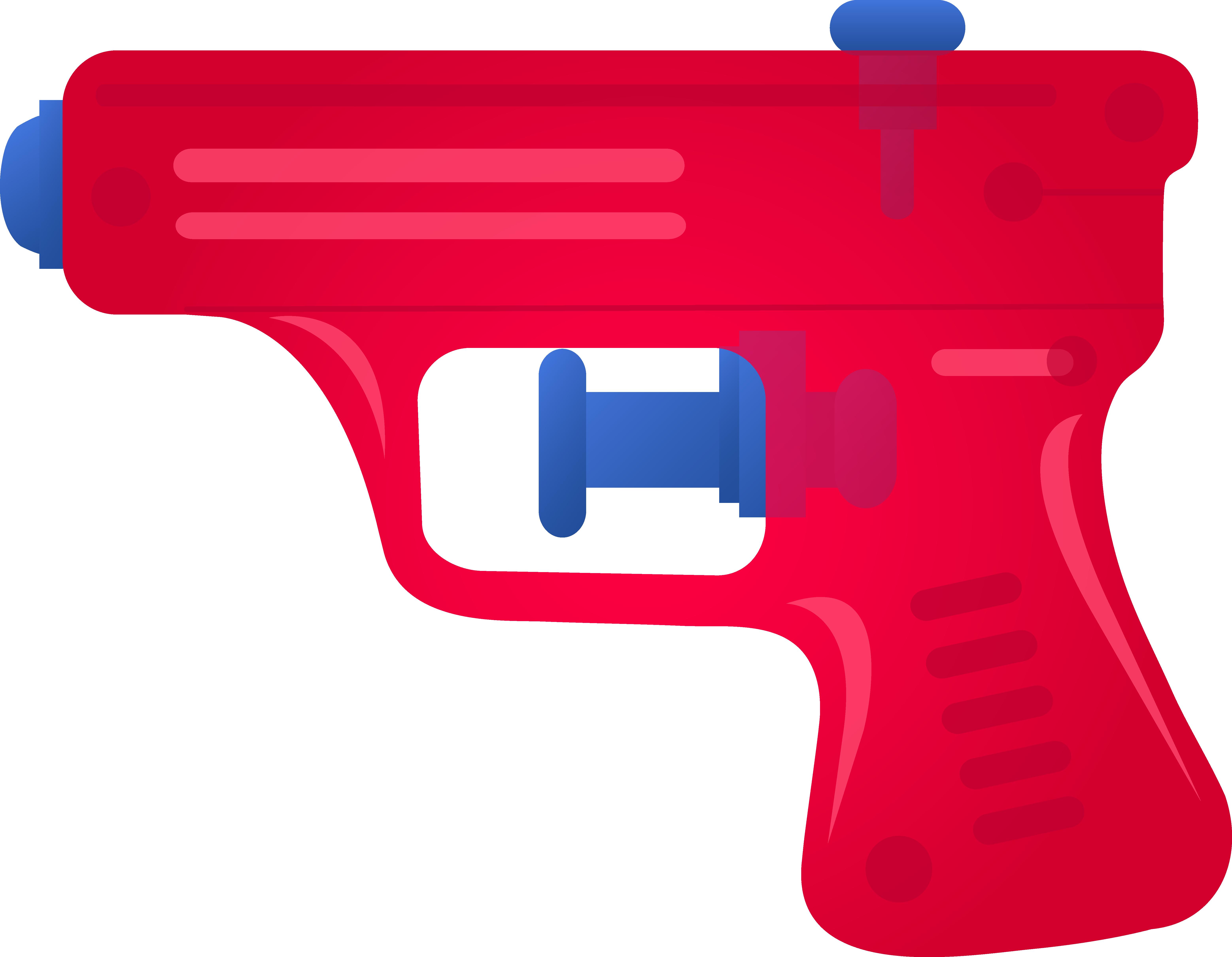 6232x4841 Red Toy Squirt Gun