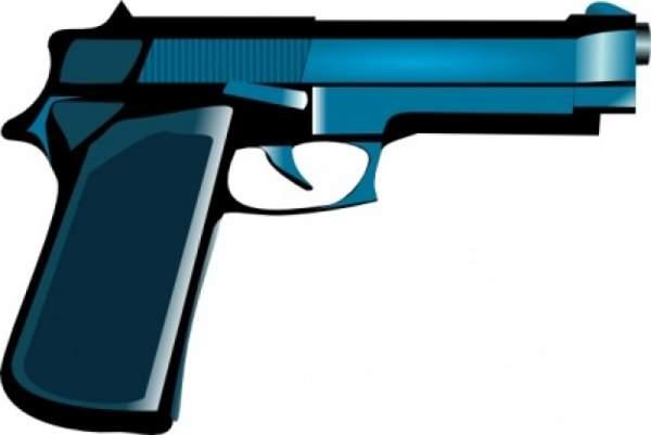 600x401 Blue Gun Clip Art Cwemi Images Gallery