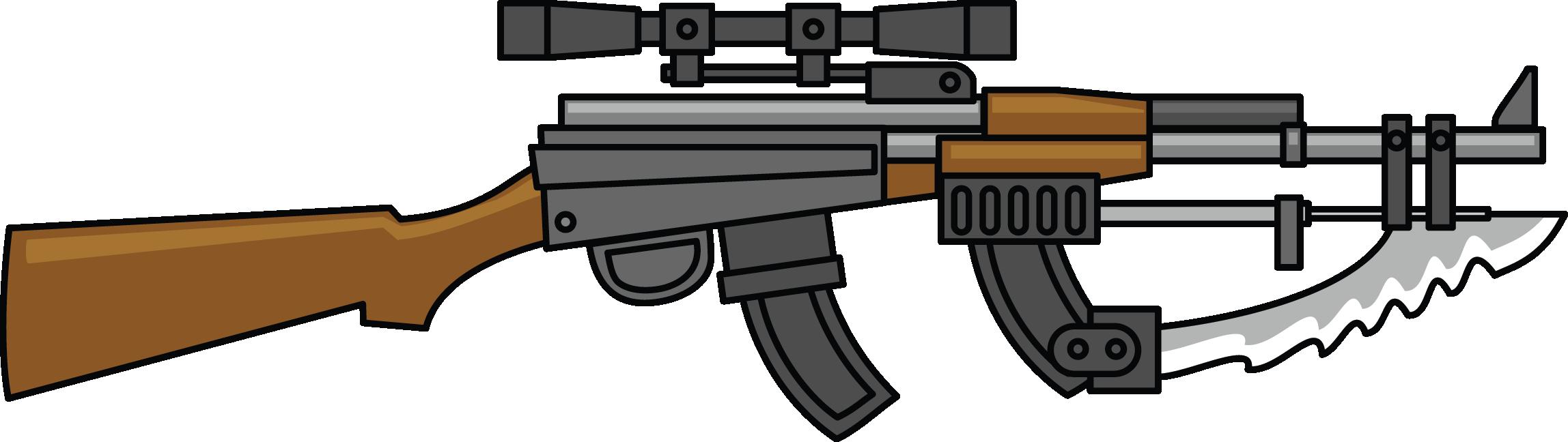 2296x648 Shotgun Clipart Machine Gun