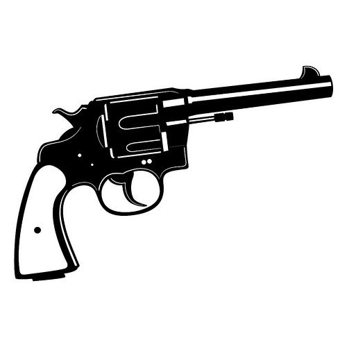 500x500 Western Gun Clipart Free Images 2