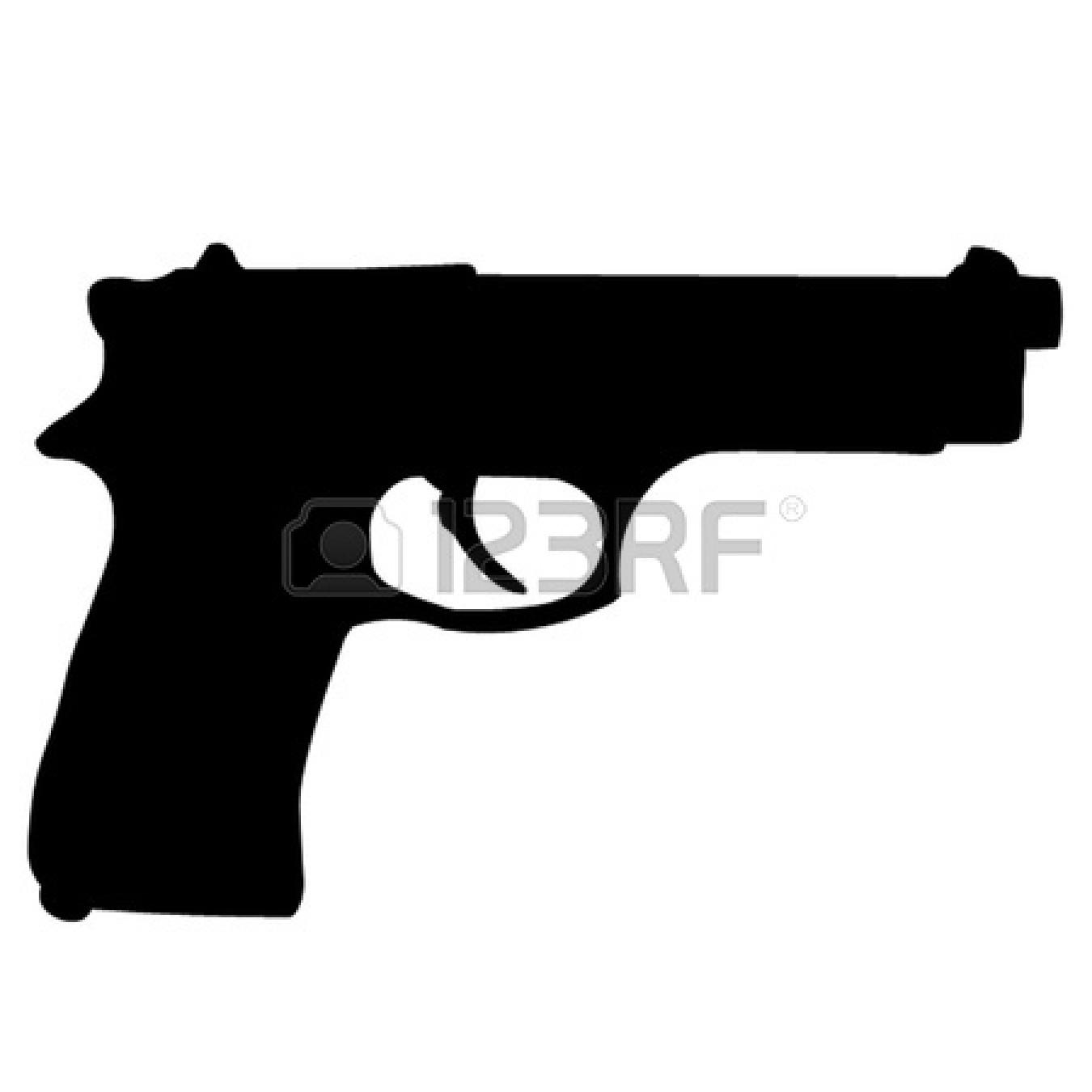 1350x1350 Gun Clip Art