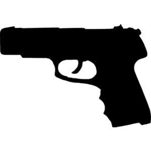 300x300 Clipart Gun