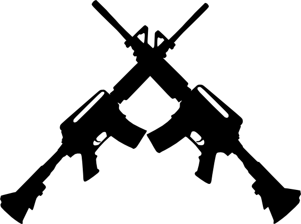 Gun Clipart Black And White
