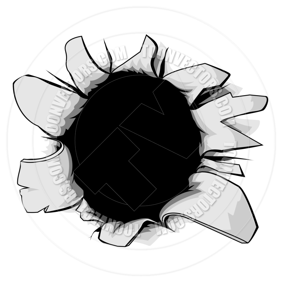 940x940 Torn Hole By Geoimages Toon Vectors Eps
