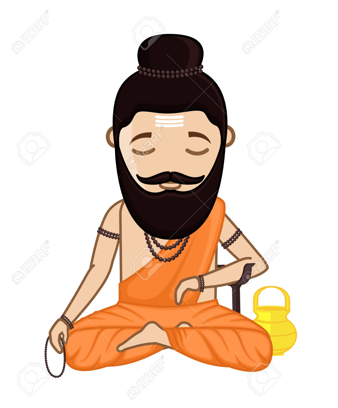 1078x1300 Hindu Clipart Cartoon