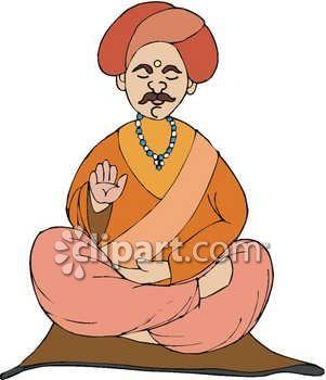 301x350 Meditation Clipart Guru