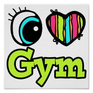 324x324 Gym Class Posters Zazzle