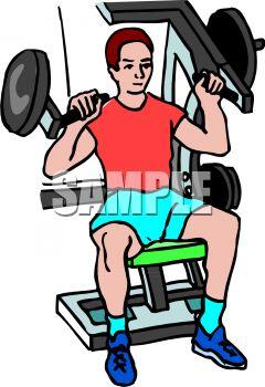 240x350 Gym Clipart
