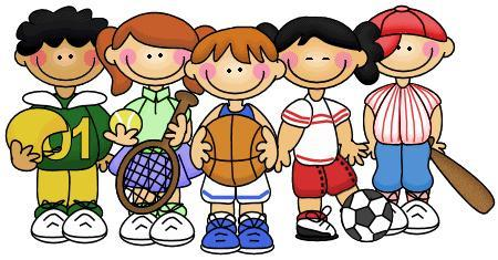 450x235 Clipart Of Gym Class In School