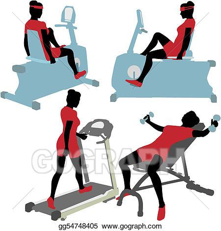 450x470 Gym Workout Clip Art