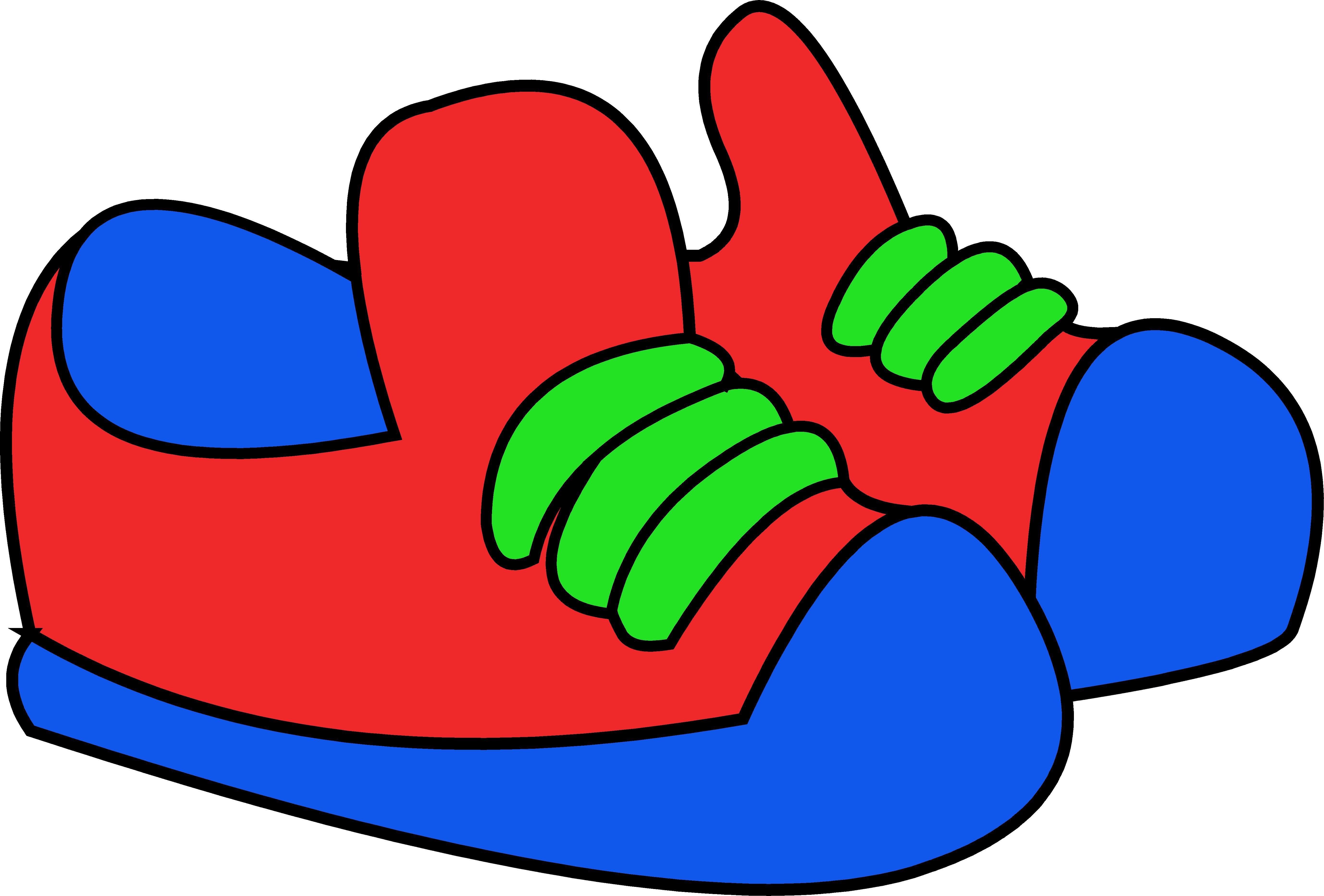 5511x3731 Gym Shoes Clipart School Shoe