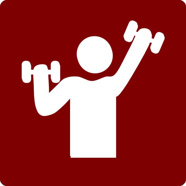 600x600 Hotel Icon Gym Clip Art
