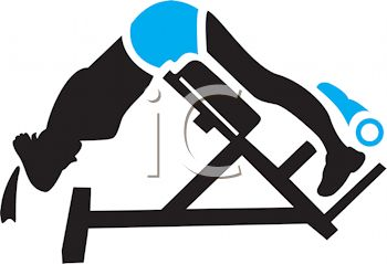 350x239 Silhouette Of A Man Using A Sit Up Machine