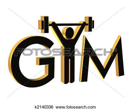 450x380 Gym Clip Art