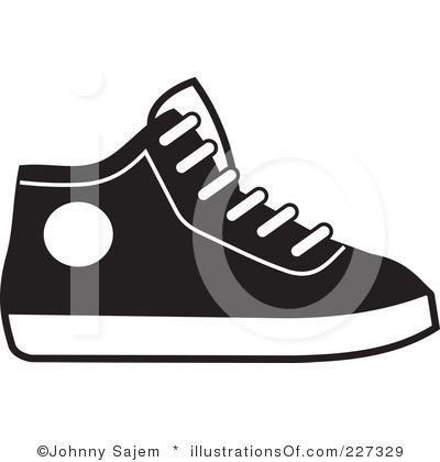 Gym Shoe Clipart