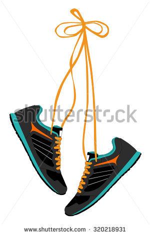 300x470 Gym Shoes Clipart Converse Shoe
