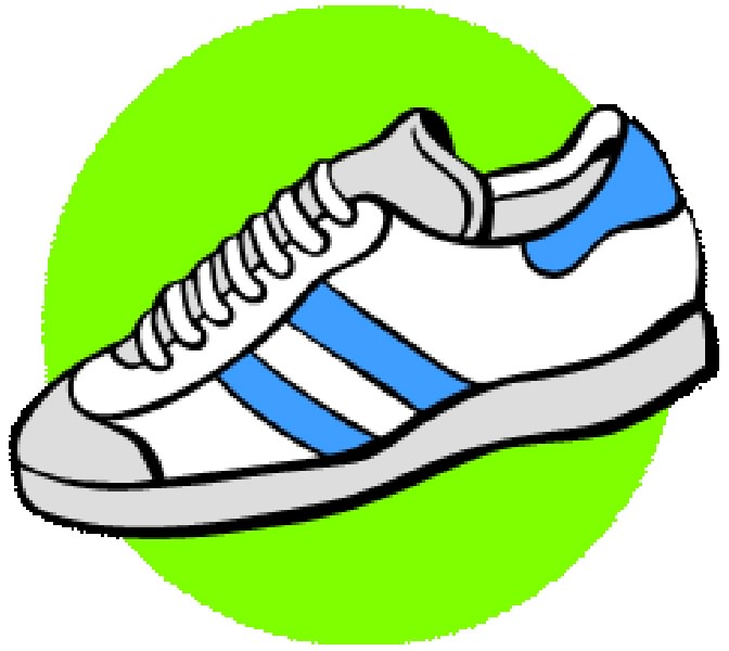 Gym Shoes Clipart