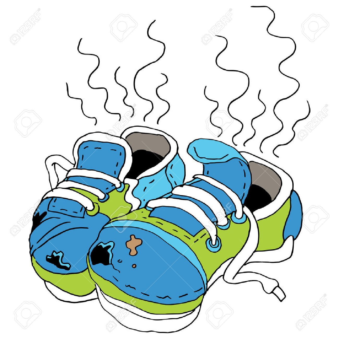 1300x1300 An Image Of Smelly Old Shoes. Royalty Free Cliparts, Vectors,