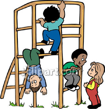337x350 Park Jungle Gym Clipart Panda